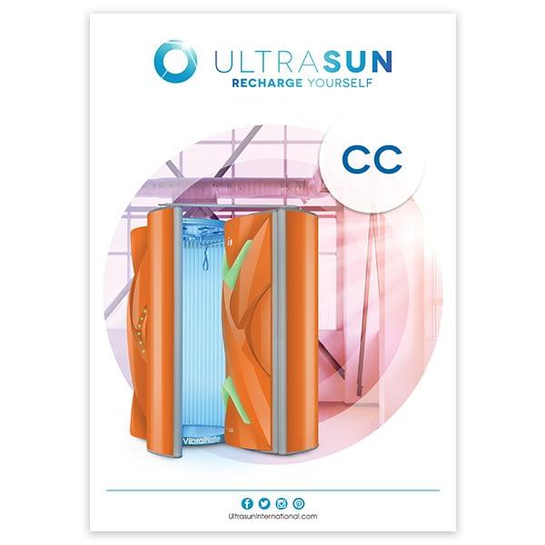 Ultrasun Changing Cubicle poster