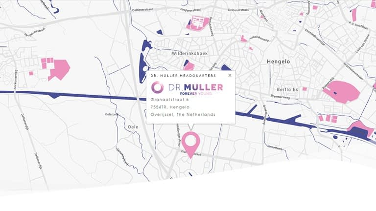 Dr. Muller heeadquarters location