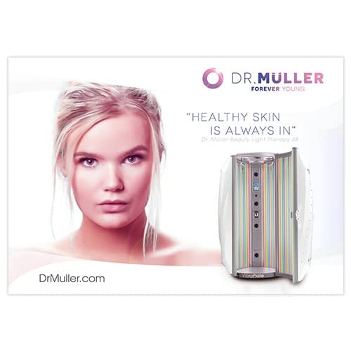Dr. Muller Beauty Light Therapy poster
