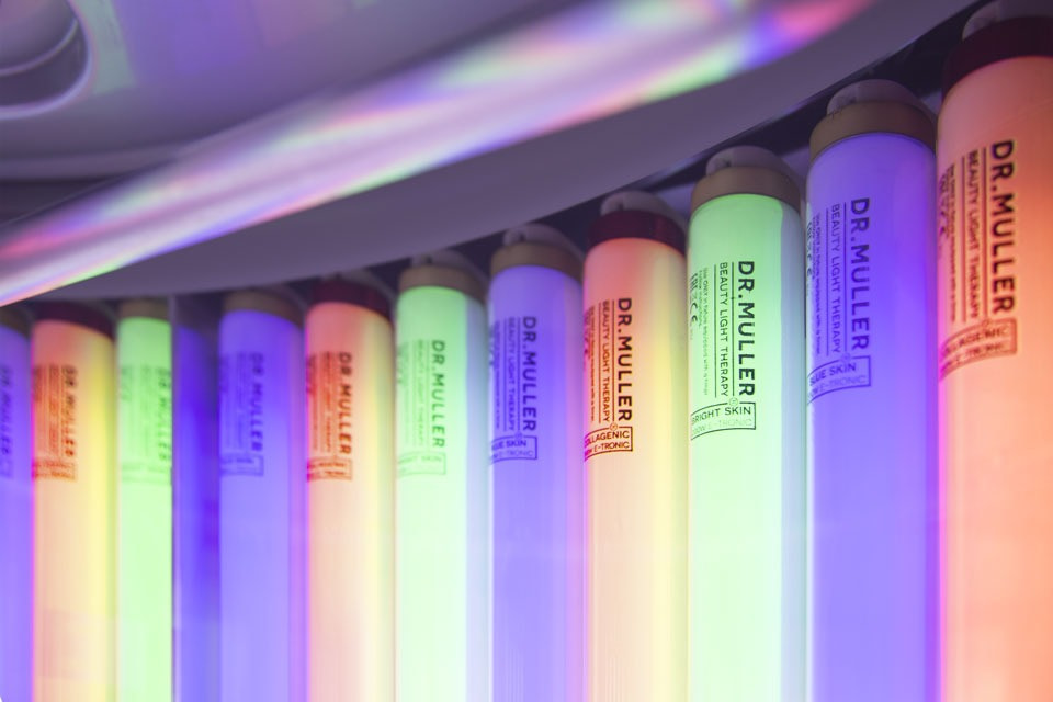 Dr. Muller Beauty Light Therapy lamps