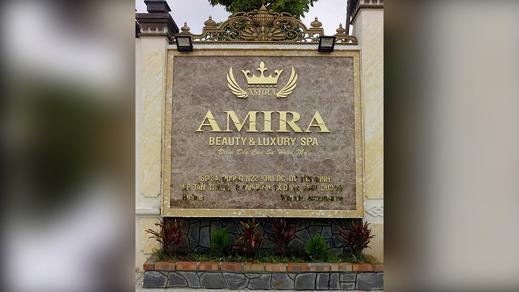 Amira Beauty & Luxury Spa front building