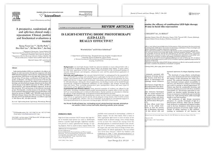 Dr. Muller light therapy articles