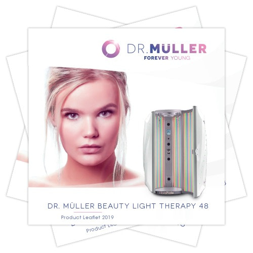 Dr. Muller Beauty Light Therapy product leaflet