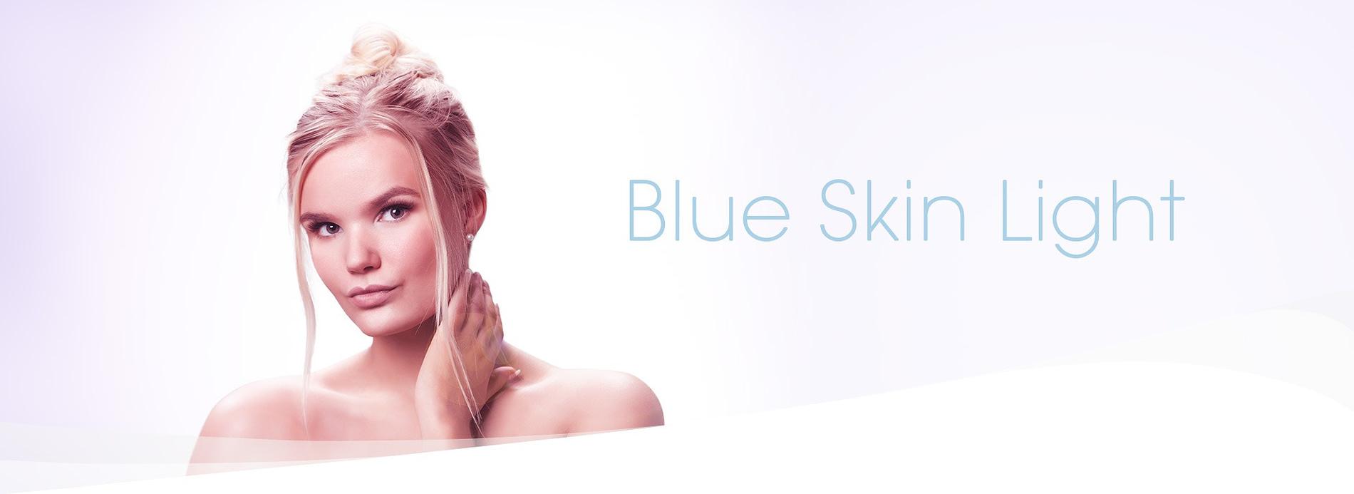 Dr. Muller header Blue Skin Light research