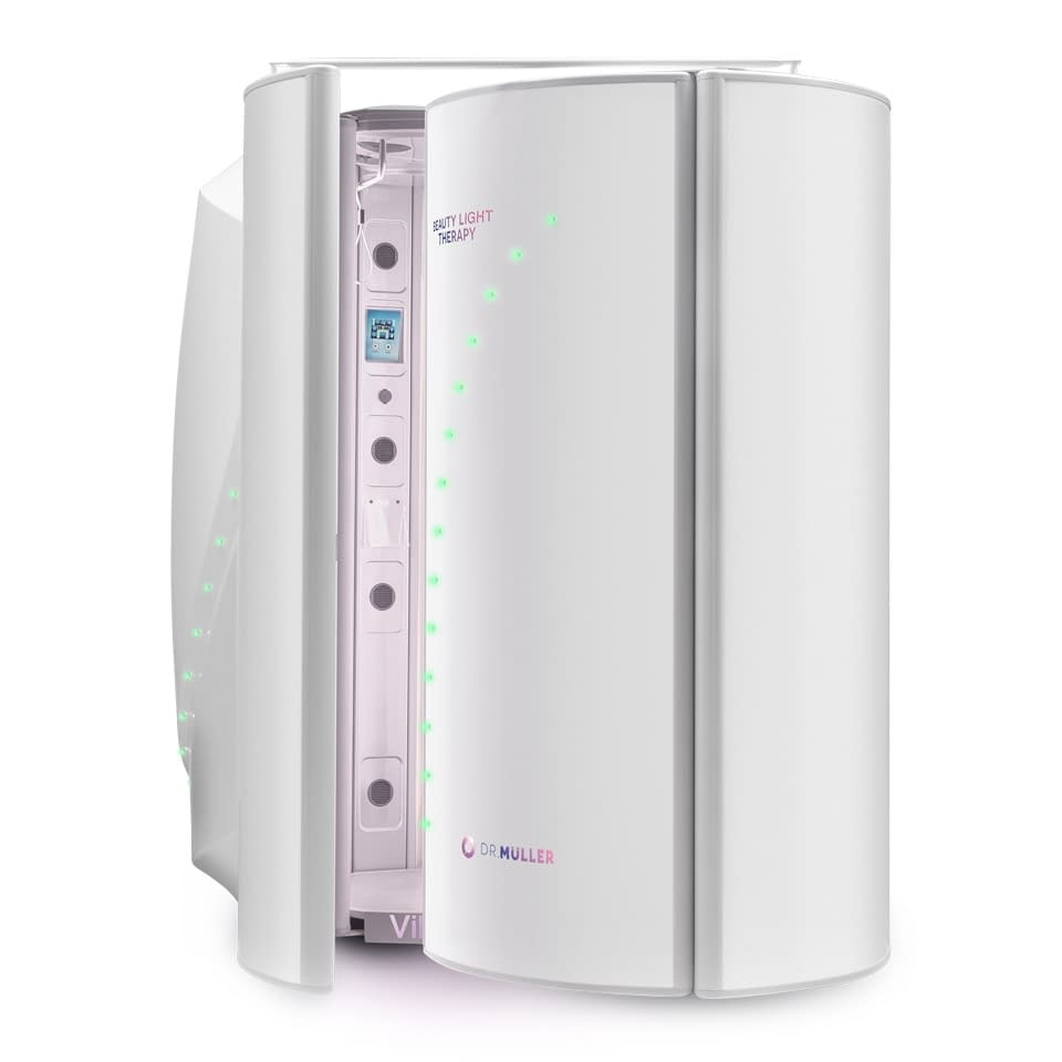 Dr. Muller Beauty Light Therapy with Changing Cubicle