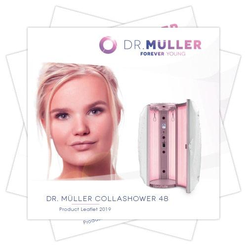 Dr. Muller Collashower product leaflet