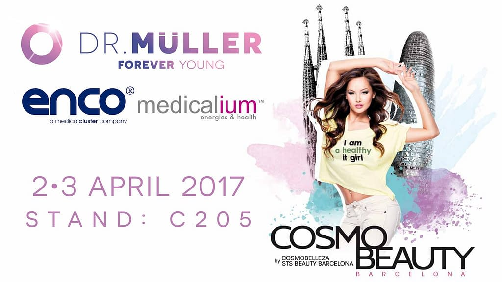 Dr. Muller and ENCO at the Cosmo Beauty Spain