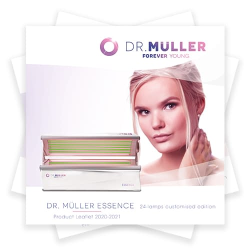 Dr. Muller Essence Customised Edition product leaflet