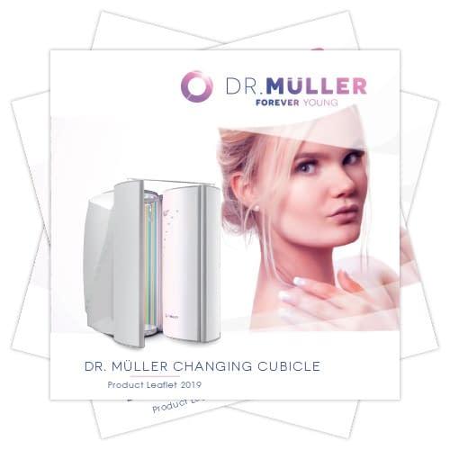 Dr. Muller Changing Cubicle product leaflet