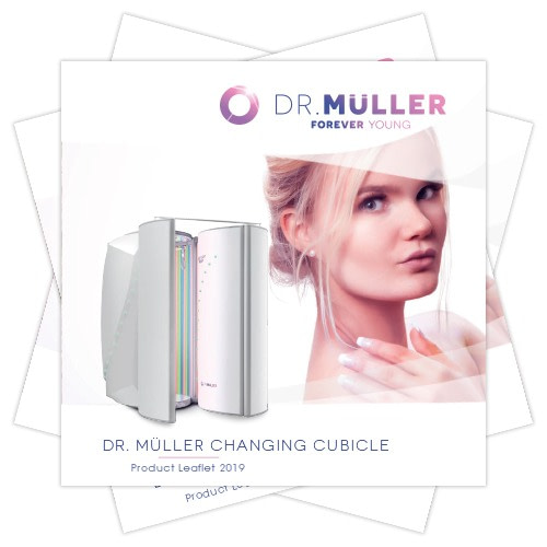 Dr. Muller Changing Cubicle product leaflet