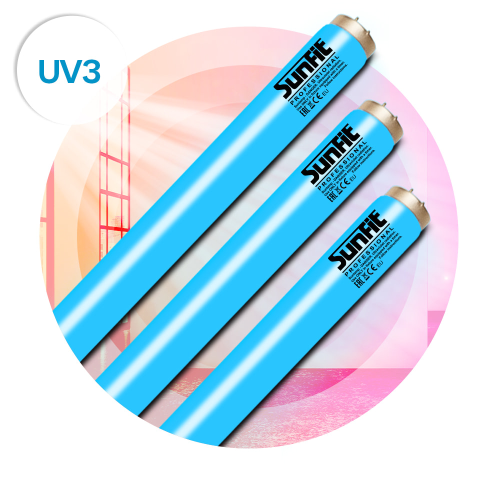 Ultrasun Sunfit UV3 lamps