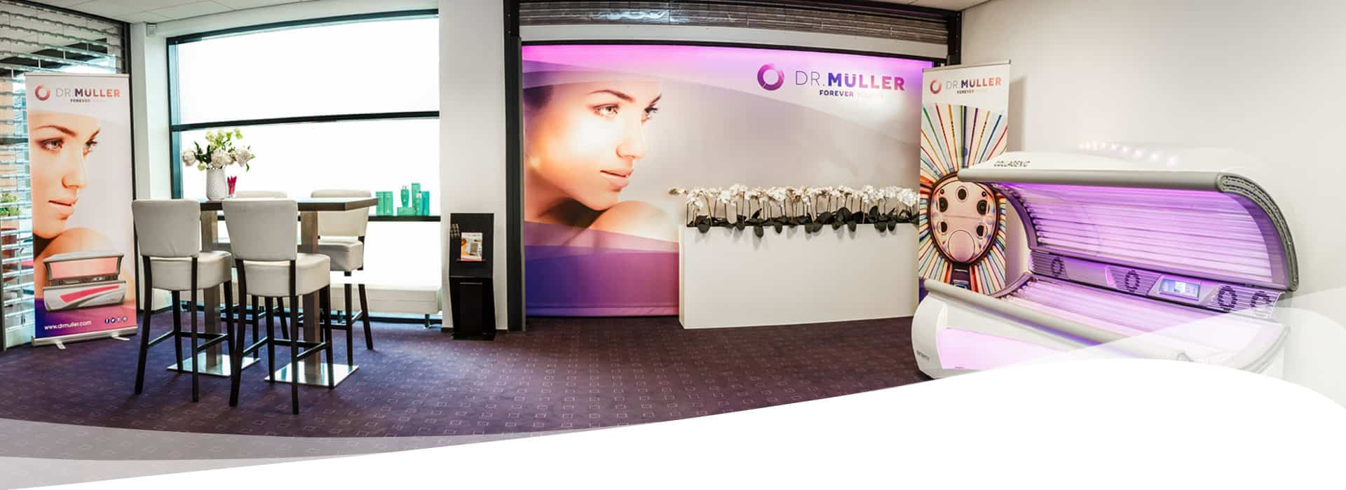Dr. Muller showroom