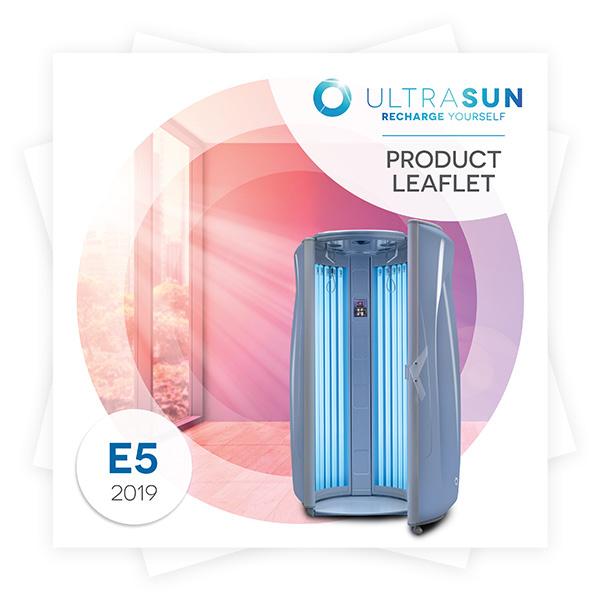 Ultrasun E5 product leaflet
