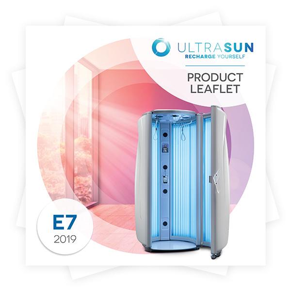 Ultrasun E7 product leaflet