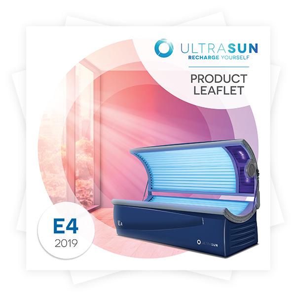 Ultrasun E4 product leaflet