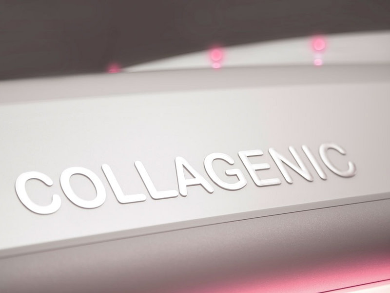 Dr. Muller Collagenic logo on top of Infinity device