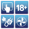 Ultrasun tanning device's options