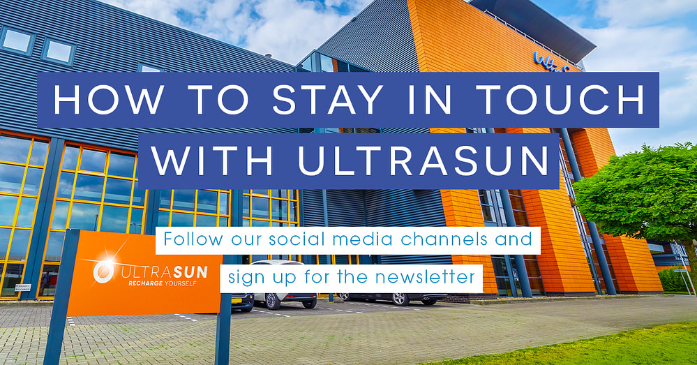how to stay in touch with ultrasun social media thumbnail