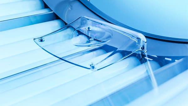 tanning guidelines Ultrasun acrylic
