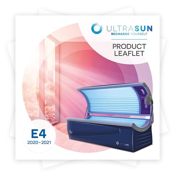 Ultrasun E4 product leaflet